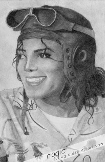 Michael Jackson by magic
